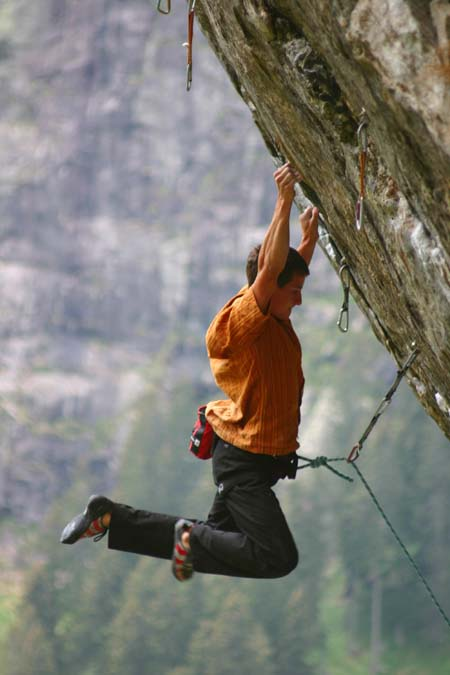 "Kopp Daniel in ""Big Red"" (8a+), Foto: Klotz Andi, Upload: Rocky8a"
